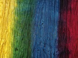 Seidentuch regenbogen