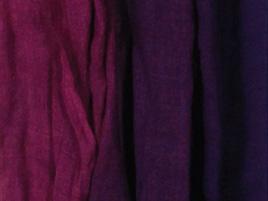 Wolle- Seidentuch lilaverlauf