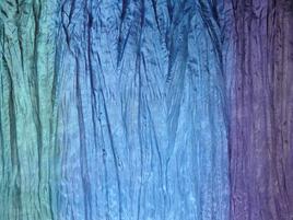 Seidentuch tuerkis-blau-lia