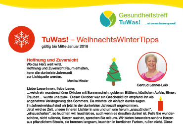 Vorschau TuWas!-FrühjarsTipps 2017